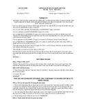 Thông tư số 62/2012/TT-BTC
