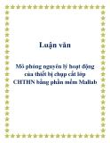 Luận văn - Mô phỏng nguyên lý hoạt động của thiết bị chụp cắt lớp CHTHN bằng phần mềm Mallab