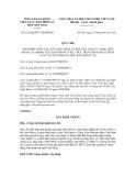 Quy chế số 1619/QCPH-TLĐ-BHXH