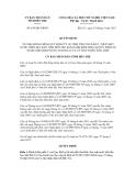 Quyết định số 654/QĐ-UBND