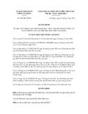 Quyết định số 496/QĐ-UBND