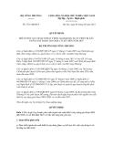 Quyết định số 1731/QĐ-BCT