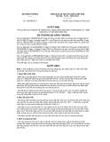 Quyết định số 1665/QĐ-BCT