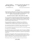 Quyết định số  940/QĐ-BNN-TCTL