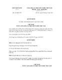 Quyết định số 421/QĐ-CTN