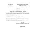 Quyết định số 432/QĐ-CTN