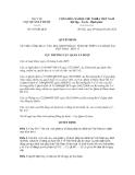 Quyết định số 103/QĐ-QLD