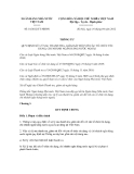Thông tư số 10/2012/TT-NHNN