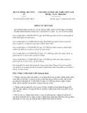 Thông tư liên tịch số 61/2012/TTLT-BTC-BCA