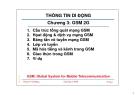 Bài giảng Thông tin di động: GSM 2G