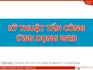 Kỹ thuật tấn công ứng dụng trên web - Lê Nguyễn Trường Giang