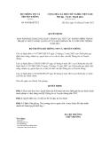 Quyết định số 430/QĐ-BTTTT
