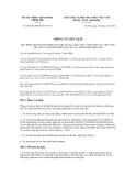 Thông tư liên tịch số 46/2012/TTLT-BTC-TTCP