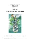 Bài giảng Động cơ Disel tàu thủy (Phần 2) - ĐH Giao thông vận tải TP.HCM