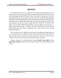 Báo cáo thực tập tốt nghiệp: Cung Cấp Điện