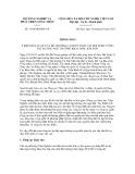 Thông báo số 1504/TB-BNN-VP