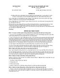 Thông tư số  01/2012/TT-BNG