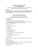 QUY CHUẨN KỸ THUẬT QUỐC GIA QCVN 7: 2012/BLĐTBXH