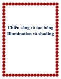 Chiều sáng và tạo bóng Illumination và shading