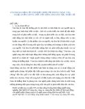 """Tiểu luận """" VĂN PHÒNG ĐẢNG ỦY THỊ TRẤN TRỚI VỚI PHONG TRÀO VĂN NGHỆ QUẦN CHÚNG ĐỐI VỚI ĐỒNG BÀO DÂN TỘC THIỂU SỐ """""""