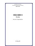 HÓA SINH II
