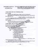 Đề thi tốt nghiệp môn Ngữ văn năm 2012 - Hệ Giáo dục THPT