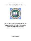 Đề Tài: Phân tích chiến lược tiếp thị cho game CrossFire (CF) của VTC Intecom trong giai đoạn năm 2011-2012