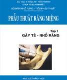 Kỹ thuật phẫu thuật miệng - Gây tê - nhổ răng Tập 1