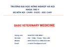 Phương thức phòng và chống bệnh truyền nhiễm gia súc gia cầm