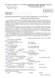 ĐỀ THI TỐT NGHIỆP TRUNG HỌC PHỔ THÔNG NĂM 2012 MÔN TIẾNG PHÁP HỆ 3 NĂM - MÃ ĐỀ 638