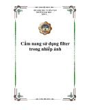 Cẩm nang sử dụng filter trong nhiếp ảnh