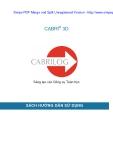 Sách hướng dẫn sử dụng: Sáng tạo công cụ toán học_CABRI 3D