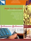 Đề tài : Phân tích tài chính công ty JOHNSON & JOHNSON
