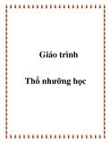 Giáo trình Thổ nhưỡng học - PGS.TS Trần Văn Chính