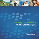 Getting Started Guide BlackBerry 8820 Smartphone
