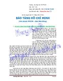 Bài thu hoạch môn Tư Tưởng Hồ Chí Minh BẢO TÀNG HỒ CHÍ MINH