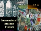 Financial Management - Chapter 22