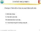 Chương 4: Tính chất cơ bản của mạch điện tuyến tính