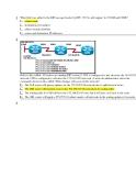 Câu hỏi trắc nghiệm CCNA 2 - Chương 7