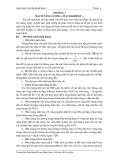 Giáo trình lý thuyết môn cơ sở kỹ thuật điện I