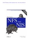 Managing Nfs, Nis