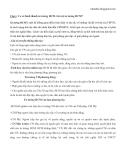 Câu hỏi ôn tập thi cuối kỳ môn Tư Tưởng Hồ Chí Minh