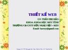 Hướng dẫn thiết kế Web