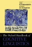 Sách THE OXFORD HANDBOOK OF COGNITIVE LINGUISTICS