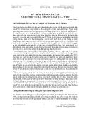 SỰ THỎA ĐÁNG CỦA CÁC GIẢI PHÁP XỬ LÝ TRANH CHẤP CỦA WTO