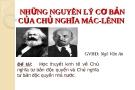 Đề tài: Học thuyết kinh tế về Chủ nghĩa tư bản độc quyền và Chủ nghĩa tư bản độc quyền nhà nước