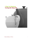 V-Ray for Sketchup Hướng dẫn tiếng Việt