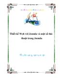 Thiết kế Web với Joomla và một số thủ thuật trong Joomla
