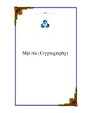 Ebook Mật mã (Cryptography) - TS. Dương Anh Đức