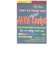 Tự học thiết kế trang Web bằng Java Script - Đậu Quang Tuấn